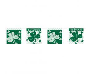6 metriä pitkä St. Patrick's Day -lippusiima