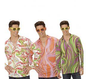 Värikkäät 70-luvun paidat aikuisille