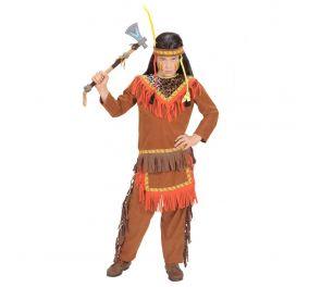 Navajo-intiaanipoika