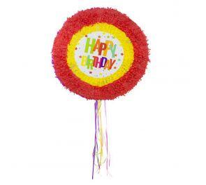 Happy Birthday-pinjata sopii syntymäpäiväjuhlien ohjelmanumeroksi!