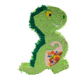 Vihreä Dinosaurus-pinjata lastenjuhliin