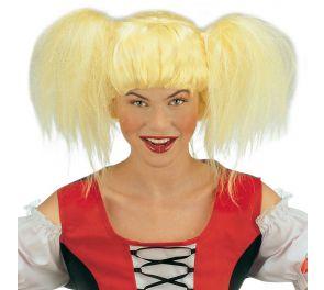 Heidi - vaalea saparoperuukki otsatukalla