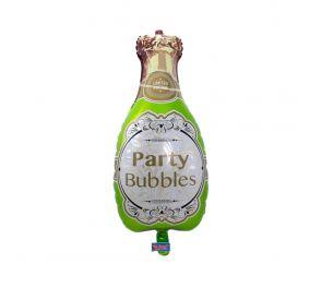 Samppanjapullo-foliopallo