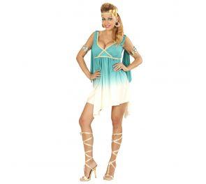 Ihana mini-mekko sopii vaikka kreikkalaiselle jumalattarelle