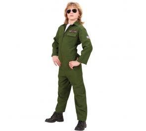 Hävittäjälentäjän haalari lapsille