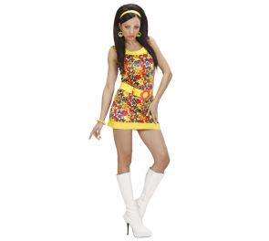 Kukka-mekko 70-luku tyyliin aikuisille