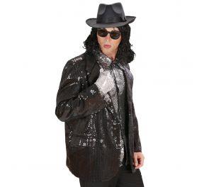 Upea musta paljetti-takki aikuisille