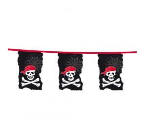 Muovinen merirosvo-lippusiima