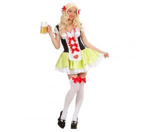 Baijerilaisteemaan sopiva Oktoberfest-mekko