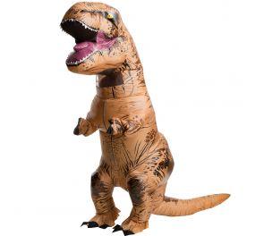 Ilmatäytteinen dinosaurus-naamiaisasu