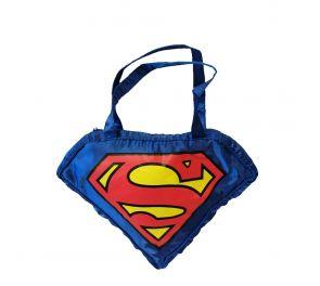 Superman-logolla varustettu käsiveska, joka sopii kaikille supernaisille!