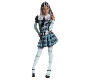 Monster High -sarjasta tuttu Frankie Stein -naamiaisasu lapsille