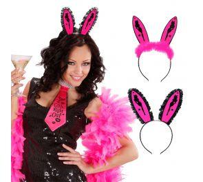 Pink Bunny Ears -pupunkorvapanta