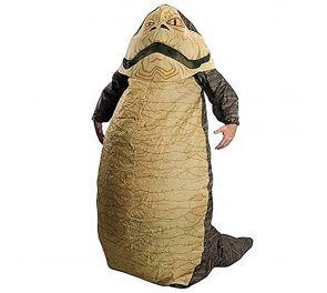 Ilmatäytteinen Jabba-naamiaisasu