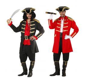 Merirosvokapteeni Jackmanin takki ja hattu