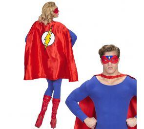 Supersankari-naamiaisasu: viitta ja silmikko