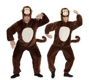 Hauska apina-haalari aikuisille
