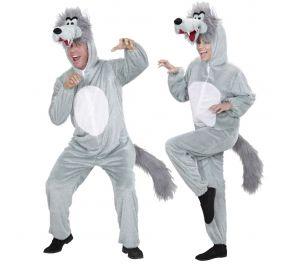 Harmaa susi-asu aikuisille