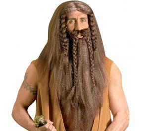 Barbaari-peruukki ja parta