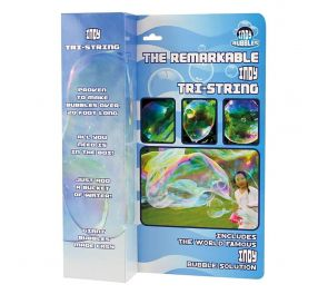 Indy Tri-String Bubble Wand -saippuakuplasauva