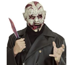 Horror Zombie -kauhunaamari halloweeniin ja zombie walkille
