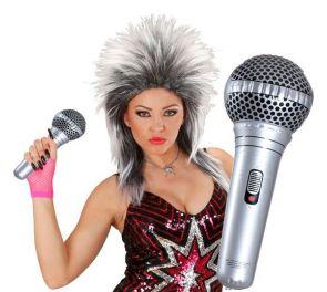 Puhallettava mikrofoni