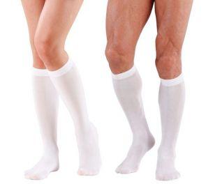 Valkoiset sukat, alle polven