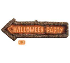 Kyltti halloween-juhliin