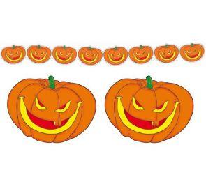 Kurpitsaköynnös halloween-koristeeksi
