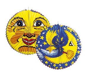 Paperipallo, iso aurinko tai kuu