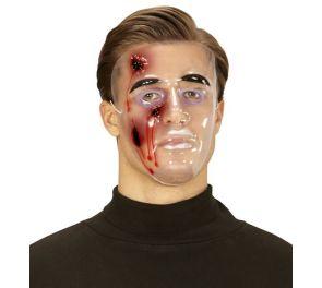 Halloween-naamari, haavat
