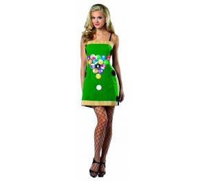 Biljardipöytä-mekko