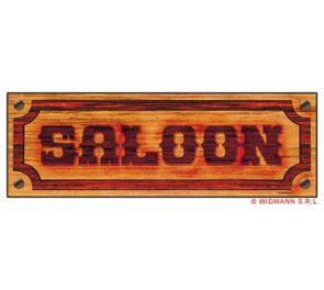 SALOON-kyltti
