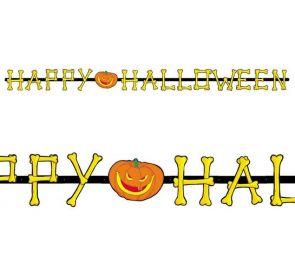 Kirjainbanneri, Happy Halloween
