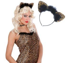 Leopardin korvapanta strasseilla