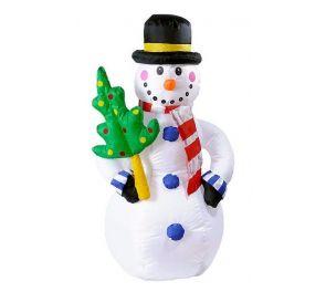 Lumiukko, ilmatäytteinen