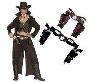 Sheriffi-asekotelo kahdelle aseelle