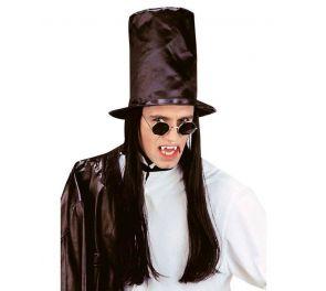 Dracula-silinteri + mustat hiukset
