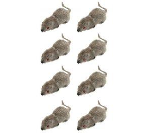 Pörröiset hiiret, 8 kpl
