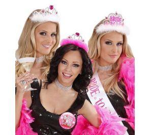 Pink Party -tiarat