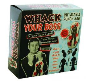 """""""Whack Your Boss"""" -puhallettava nyrkkeilysäkki"""