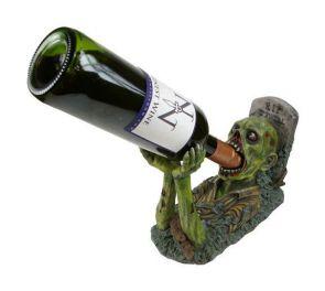 Viinipulloteline zombie-teemaan