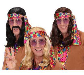 Hippi/Lennon-peruukki