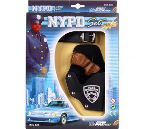 Upea asesetti poliisille