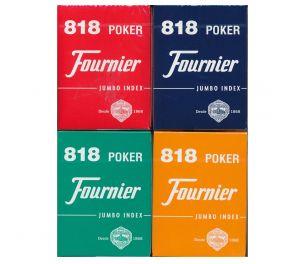 Fournier® Nº 818 Jumbo Index -pelikortit