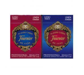 Fournier® Nº 818 Linen Finish Jumbo Index -pelikortit