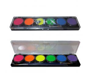 Erikoistehostekäyttöön tarkoitetut UV-aktiiviset värit