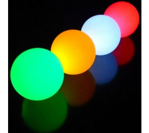 LED Glow Balls -jongleerauspallot