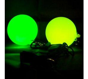 Oddballs LED Glow Poi, 2 kpl - STROBE