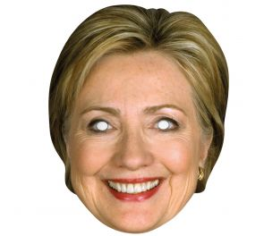 Hillary Clinton -julkkisnaamari